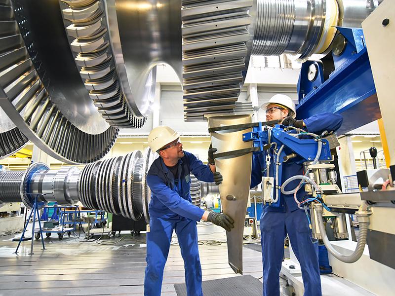 Arbeiten im Energiebereich